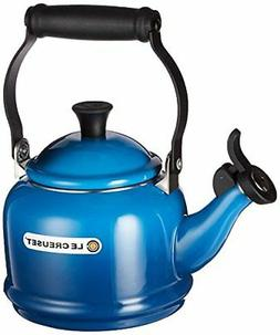 Le Creuset  1.25 Quart Demi Tea Kettle, Marseille Blue  ** N