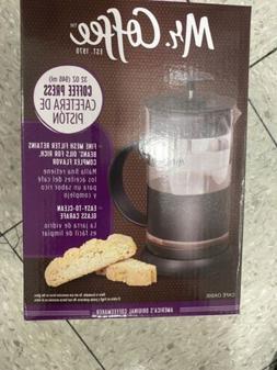 Mr. Coffee 1.1 Quart Black Coffee Press