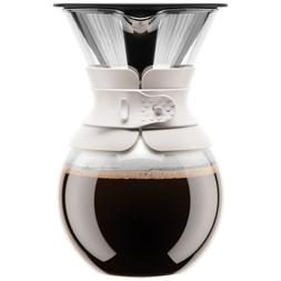 Bodum 11593-913 Pour Over Coffee Maker with Permanent Filter