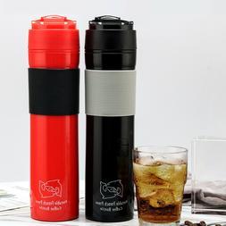 i Cafilas 12oz Portable French Press Travel Mug Coffee Maker