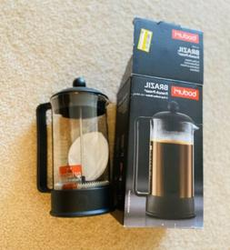 Bodum 1543-01US Brazil French Press Coffee and Tea Maker, 12