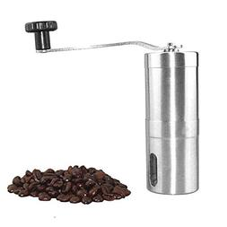 1PC Portable Stainless Steel Manual Coffee Grinder For Brewi