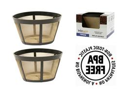 GoldTone Reusable Commercial Basket Coffee Filters for Bunn