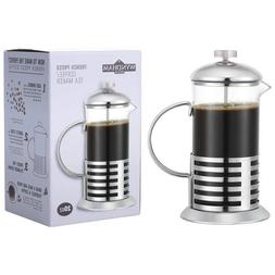 20 Ounce French Press Coffee-Tea Maker - Glass & Stainless S