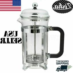 20oz stainless steel glass french press pot