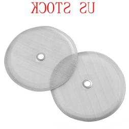 2Pcs Reusable French Coffee Press Replacement Filters Screen