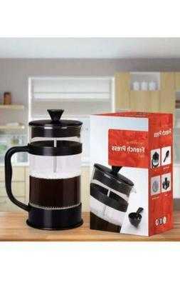 Utopia Kitchen 34 Oz French Press Coffee & Tea Maker black/g