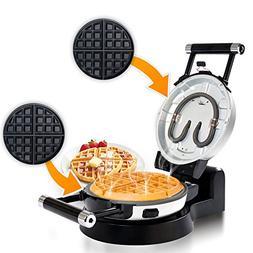 Secura Detachable 360 Rotating Belgian Waffle Maker w/Remova