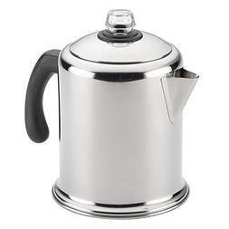 Farberware 47053 Percolator, 12-Cup, Stainless Steel