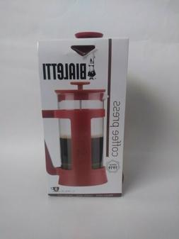 Bialetti 8 Cup French Coffee Press Red Color COFFEE LOVER GI