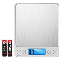 AMIR Digital Kitchen Scale, 3000g 0.01oz/ 0.1g Pocket Cookin