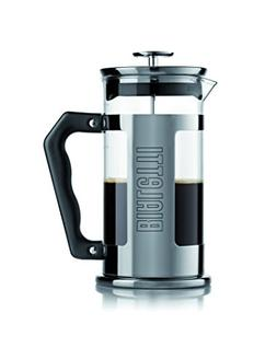 Bialetti 06704 12-Cup French Press Coffee Maker, Stainless S