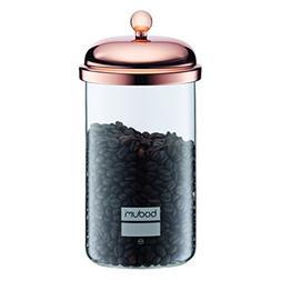 Bodum 11654-18 Storage Jar, 34 oz, Copper