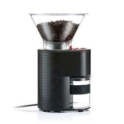 Bodum Bistro Burr Grinder, Electronic Coffee Grinder with Co