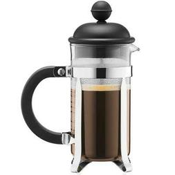 Bodum Caffettiera French Press Coffee Maker, Black Plastic L