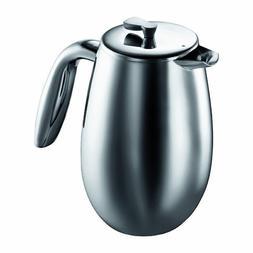 Bodum Columbia 12-Ounce Stainless-Steel Thermal Coffee Press