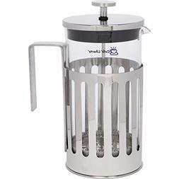 Cafe'Liberte' French Coffee/Tea Press - 8 Cup  - Polished St