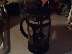 Coffee/Tea French Press 6 Cup, Black