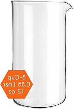Cozyna Universal 12oz French Press Replacement Glass Beaker