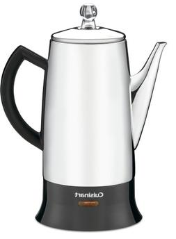 Cuisinart PRC-12 Classic 12-Cup Stainless-Steel Percolator,