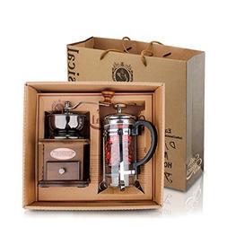 DeFancy Vintage Style Manual Coffee Grinder Hand Grinder & F