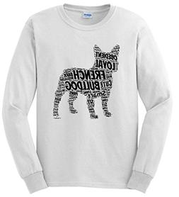 Dog Clothes French Bulldog Word Art Dog Puppy Owner Gift Lon