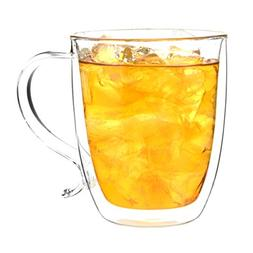 GROSCHE Cyprus Double-walled Glass Coffee Mug Heatproof Insu