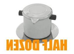 Half-Dozen  Vietnamese Drip Coffee Maker, Coffee Filter Infu