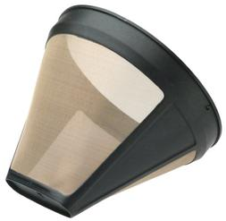 KRUPS F05342 Gold Tone Permanent Filter, Black