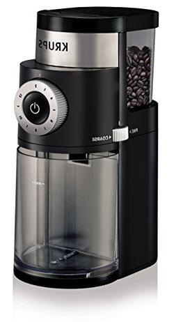 KRUPS GX5000 Professional Electric Coffee Burr Grinder with