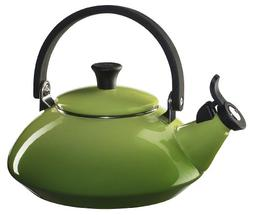 Le Creuset Enamel-on-Steel Zen 1-2/3-Quart Teakettle, Palm