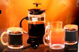 Mr Coffee 1.1 Qt French Press Gift Set