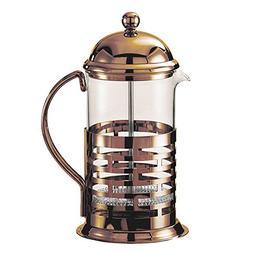 Service Ideas T877BRNZ Brick Coffee Press, 1000 mL, Bronze