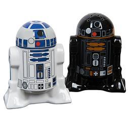 Star Wars Salt and Pepper Shakers - R2D2 and R2Q5 - Add a li
