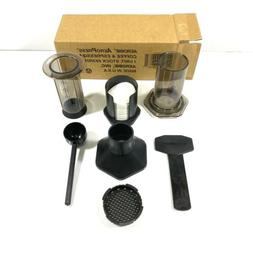 Aerobie AeroPress 1-3 Cup Coffee Press and Espresso Maker wi