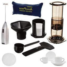 AeroPress Coffee and Espresso Maker Includes Tote Bag, Extra