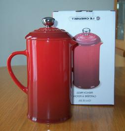 Le Creuset of America Stoneware Petite French Press, 12 oz,