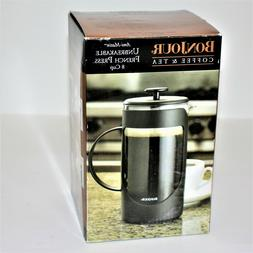 BonJour Ami-Matin Unbreakable French Press Coffee Maker 8-Cu