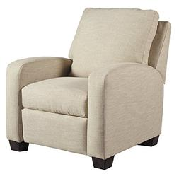 Benchcraft - Ayanna Nuvella Contemporary Low Leg Recliner -