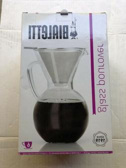 Bailetti Pourover Drip Coffee with Glass Carafe