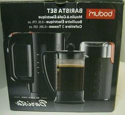 barista set coffee grinder water kettle 3