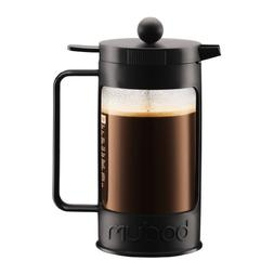 Bodum Bean 8-Cup French Press Coffee Maker, 34-Ounce, Black