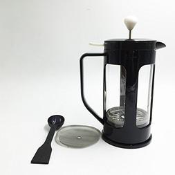Ivykin Big Capacity Glass Coffee & Tea Maker 34 oz, 1L, 8 Cu