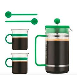Bodum Bistro Coffee Set Green