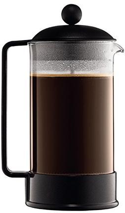Bodum 1548-01 Brazil Cafetière à Piston 8 Tasses 1 L Noir