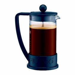 Brazil French Press Coffee Maker , 12 Oz., Black