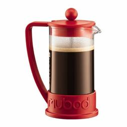 Bodum New Brazil 3-Cup French Press Coffee Maker, .35 l, 12-