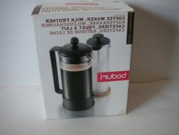 Bodum Brazil French Press Coffee Maker Milk Frother