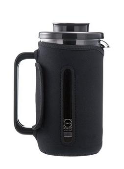 GROSCHE Brenton 34 oz. 1000ml Glass French Press with Therma