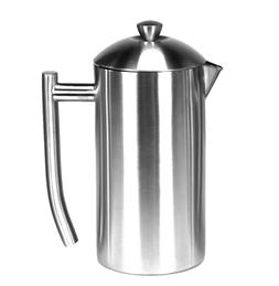 Frieling Brushed Stainless Steel French Press Coffee Maker -